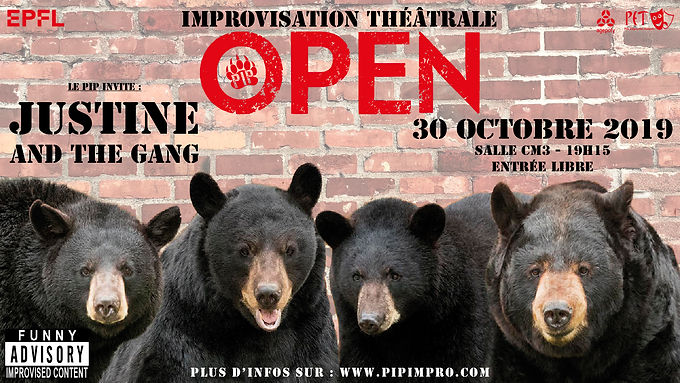 OPEN : PIP - Justine & The Gang