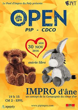 OPEN : PIP - Impro d'Âne