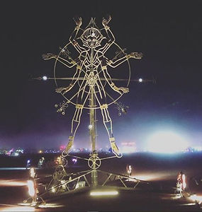 Burning Man : DJ Elliot DeHoyos