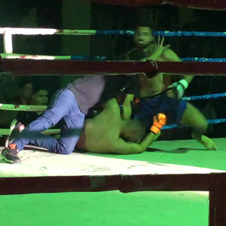 Hashash Vs Karim Kings of the Ring MMA Title