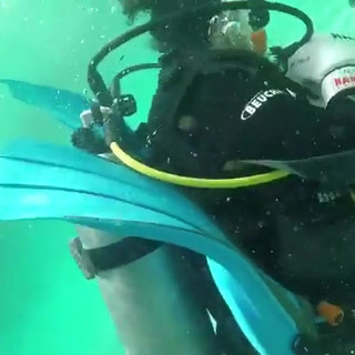 Boxing under water