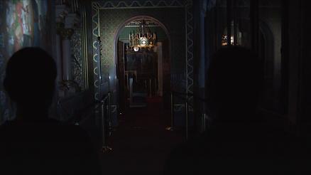 Innen Aufnahme des Schloss Neuschwanstein für die gleichnamige Fernsehsendung die von isar film produziert wurde