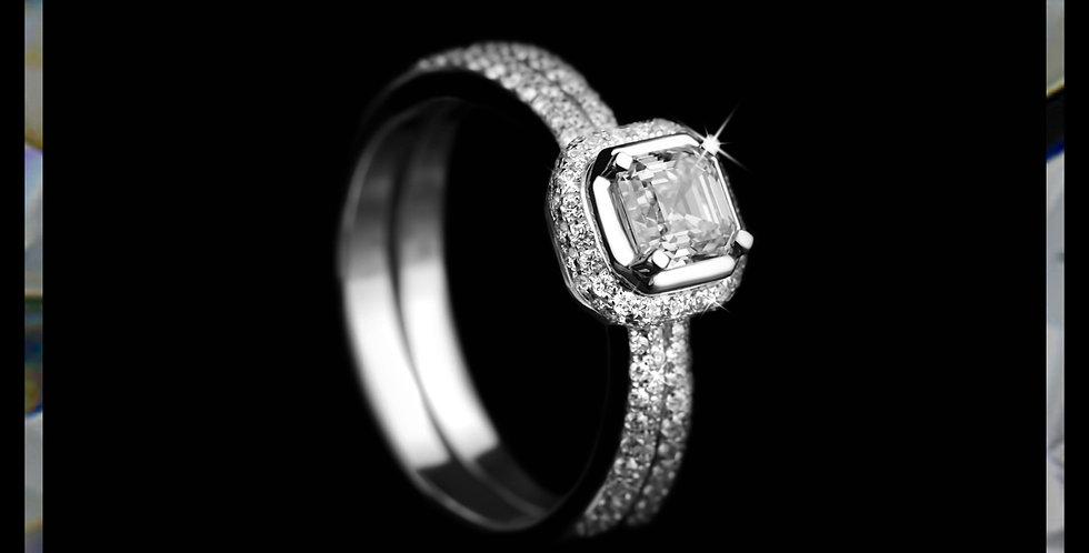 Avantgrade Iconic Asscher Ring