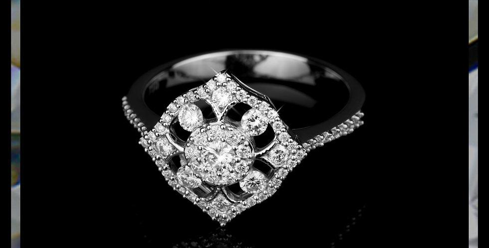 Arabesque Diamond Ring
