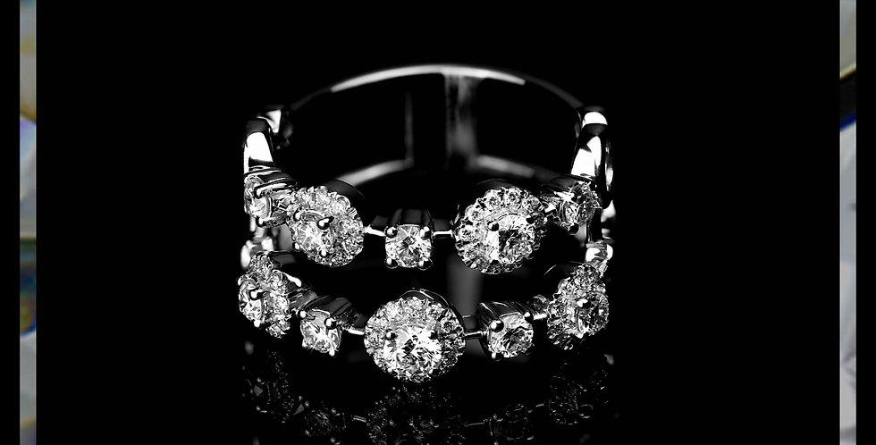 Le Soleil Diamond Ring