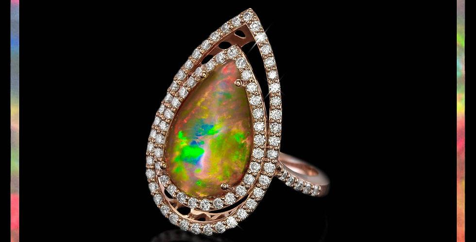 Avantgarde Welo Opal Cluster Ring