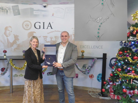 ALAHMAR Wins GIA's 'Best-in-Show' Jewelry Design Award