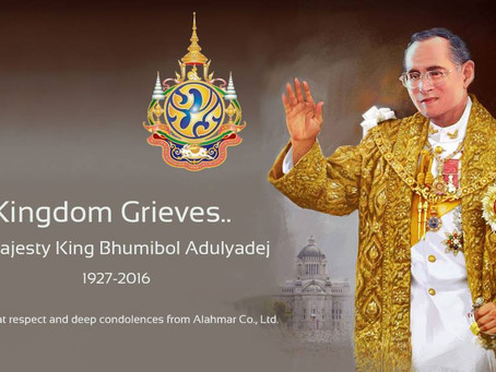 Deepest Condolences to the Thai People