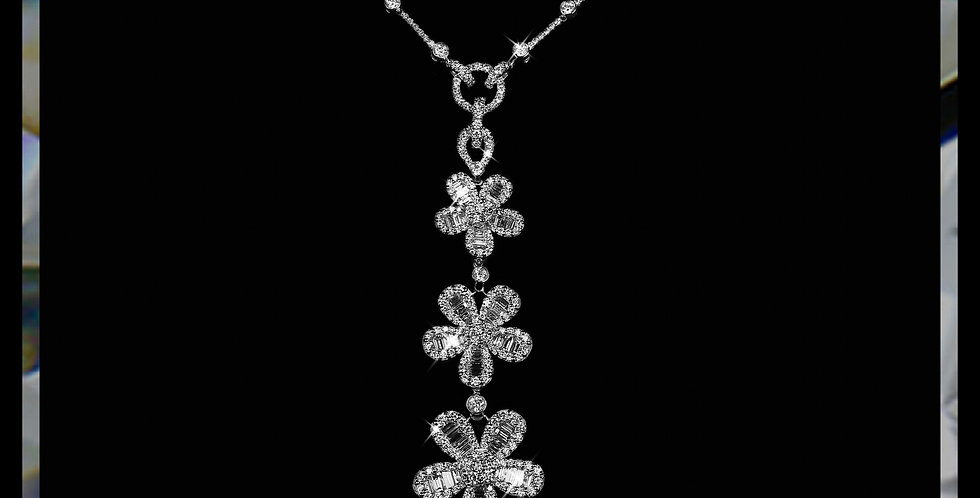 Damascene Jasmine Necklace II