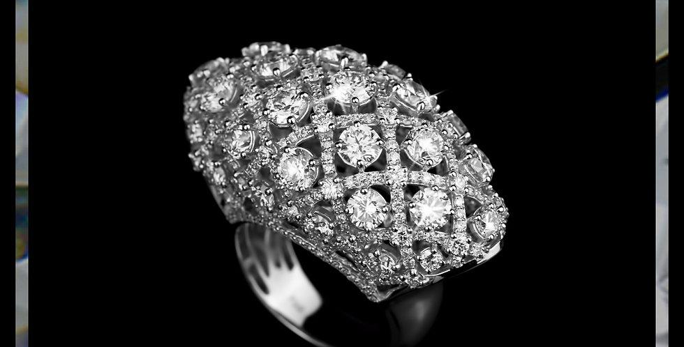 Avantgarde Diamond Dome Ring
