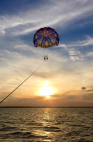 parasail sunset cruise, fireworks cruise destin, destin parasail on the beach, beach parasail destin