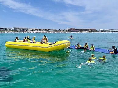 snorkel and banana.jpg