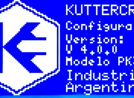 Mejoras en Firmware Kuttercraft 4.0.0