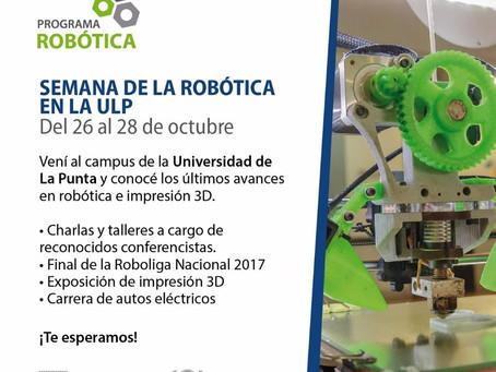 Kuttercraft presente en la Semana de la Robotica ULP (San Luis)
