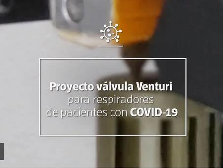 Cómo es la válvula clave para salvar vidas de pacientes graves por COVID-19 fabricada en Argentina
