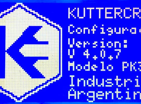 Mejoras en Firmware Kuttercraft 4.0.7