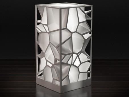 Lámpara Voronoi