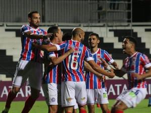 Sul-americana: Bahia vacila e amarga empate com o City Torque em sua estréia.