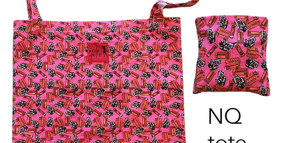 Nicola Quilter shopping bag
