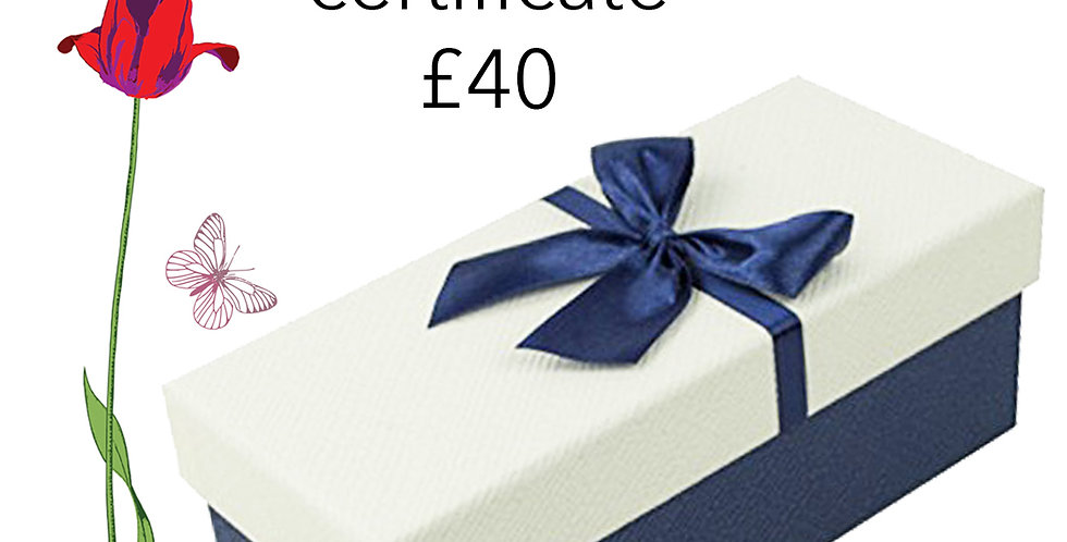 Gift Certificate £40