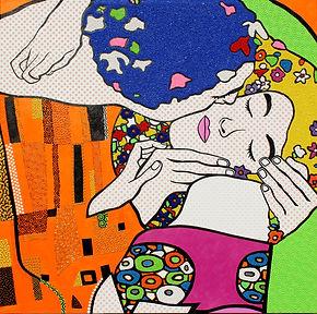 Homage-to-Gustav-Klimt-A-Kiss-scaled.jpg