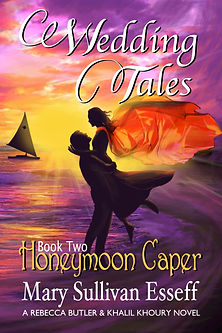 Wedding Tales, Book Two: Honeymoon Caper, Mary Sullivan Esseff. Exciting romance in the Caribbean. Honeymooners uncover a diamond smuggling ring.