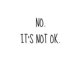 It's not OK