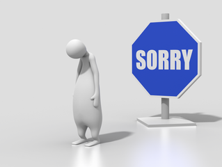 Saying Sorry