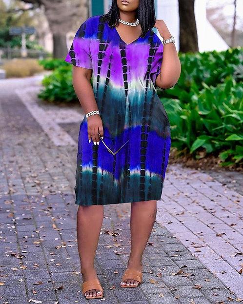 Tie Dye Me Dress