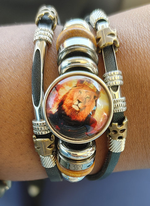 Royalty Leather Bracelet