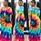Thumbnail: Rainbow Off Shoulder Maxi