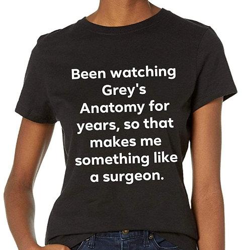 Something like a surgeon Shirt