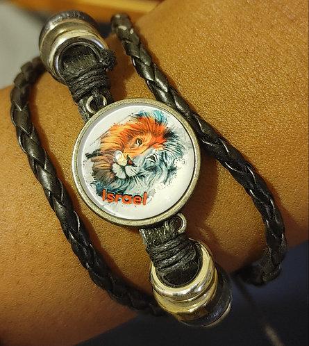 Israel Lion Bracelet