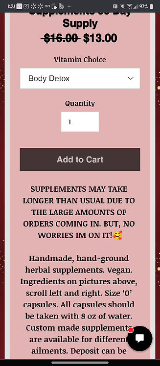 Everyday Health Supplements 30 Day Supply