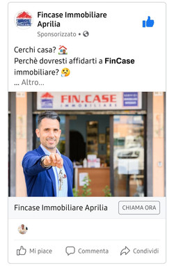 Annuncio Facebook FinCase 2
