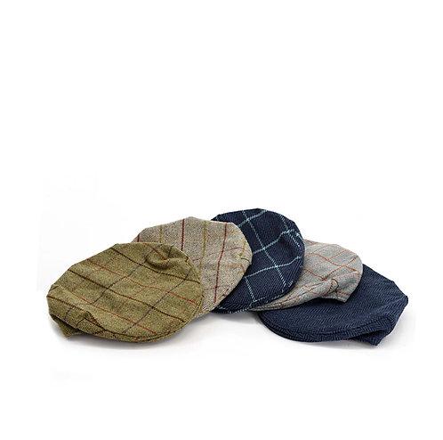 TWEED MILL TWEED FLAT CAP