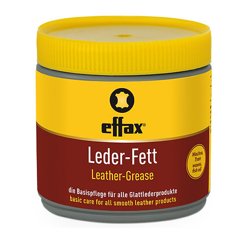 EFFAX LEATHER GREASE - BLACK 500ML