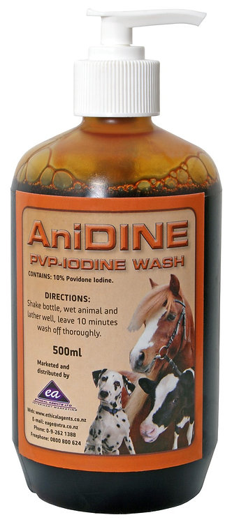 ANIDINE PVP-IODINE WASH 500mL