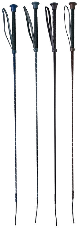 FLECK DRESSAGE WHIP - WRAPPED HANDLE