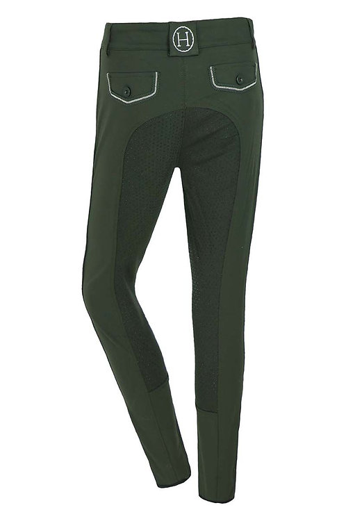 HARCOUR WOMENS ALEXANDRA BREECHES WITH FULL GRIP SEAT
