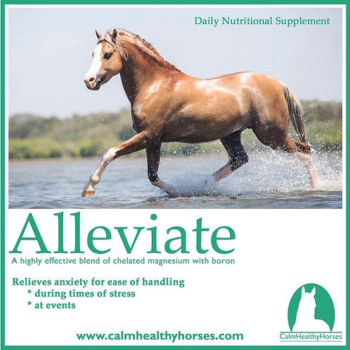 ALLEVIATE 350G CALM HEALTHY HORSES
