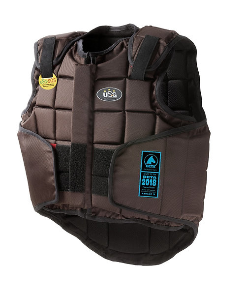 USG ADULTS FLEXI BODY PROTECTOR - BROWN