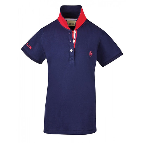 DUBLIN GABBI SHORT SLEEVE POLO - CHILDS