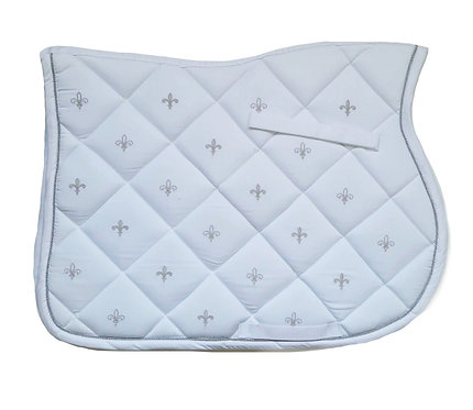 LAMI-CELL FLOWER LILY DRESSAGE SADDLE PAD
