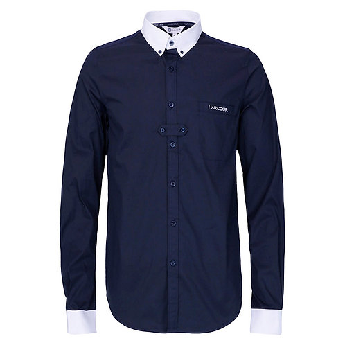 HARCOUR SAMUEL MENS COMPETITION SHIRT - NAVY