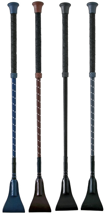 FLECK RIDING WHIP - WRAPPED HANDLE