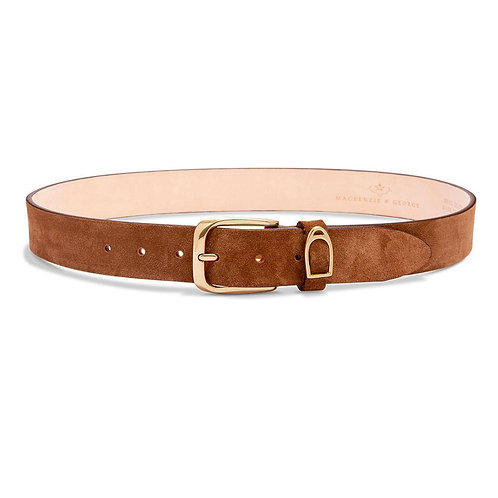 MACKENZIE & GEORGE CHATSWORTH BELT - CAMEL