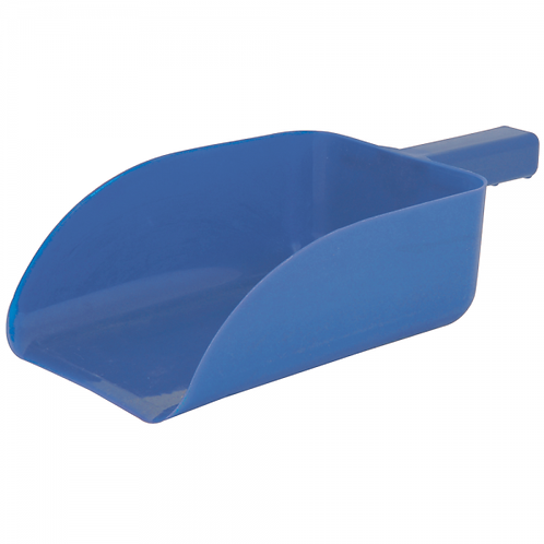 ROMA PLASTIC FEED SCOOP - BLUE
