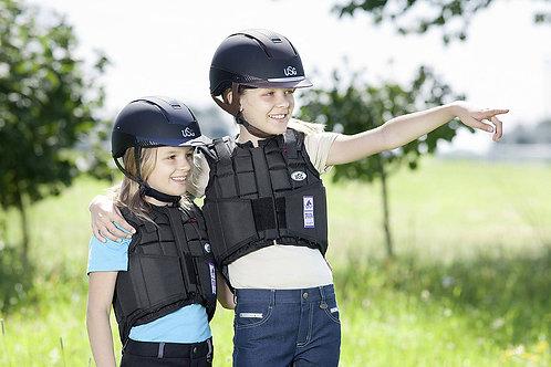 USG CHILDS FLEXI BODY PROTECTOR - BLACK