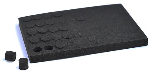 PRO GRIP FOAM KEEPERS FOR STUD HOLES